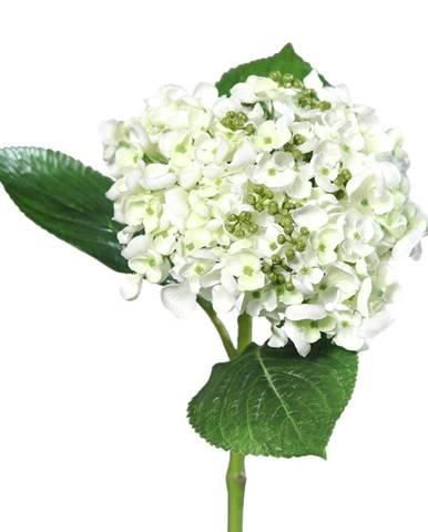 Umelá hortenzia biela, 44 cm