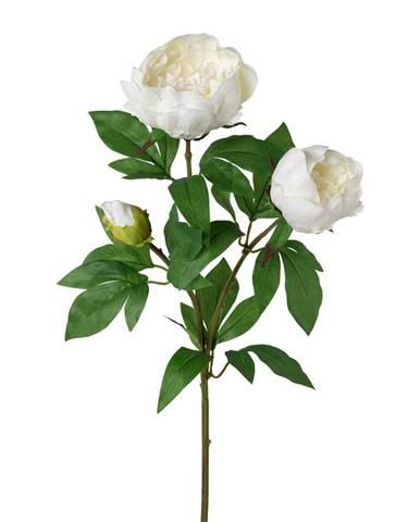 Umelá pivonka biela, 70 cm