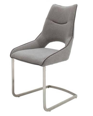 Jedálenská stolička ISLA svetlosivá
