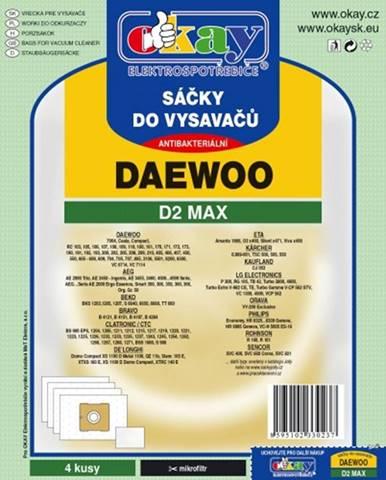 Vrecká do vysávača Daewoo D2 MAX, 8ks