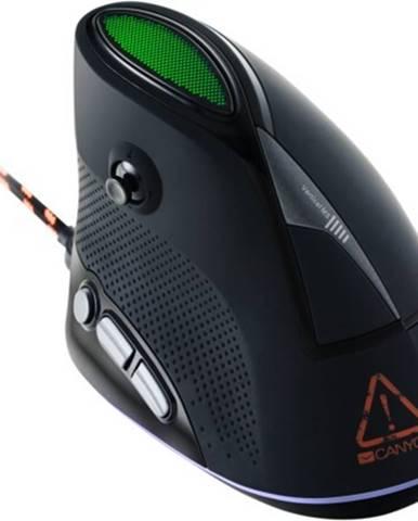 Drôtová myš Canyon CND-SGM14RGB, herná, vertikálna, čierna