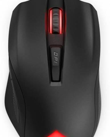 Drôtová myš HP OMEN Vector, herná, čierna + Zdarma podložka Olpran