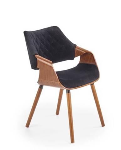 Jedálenská stolička Manza čierna