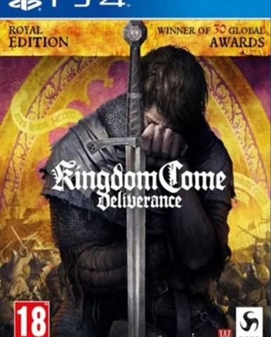 PS4 hra - Kingdom Come: Deliverance Royal Edition