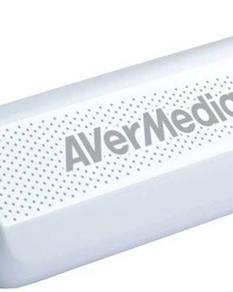 AVERMEDIA Externý USB tuner AVerMedia TV TD310, DVB-T/T2/C/HEVC POUŽITÉ, NE