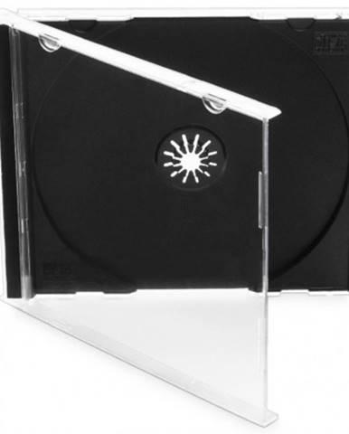 Box na CD COVER IT, 10 ks/bal, čierny
