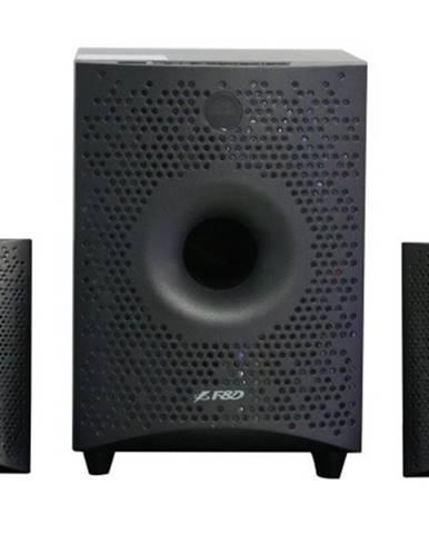 Reproduktory Fenda F&D F210X, 2.1, 15 W, Bluetooth, čierne