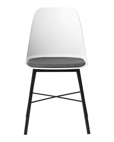 Biela jedálenská stolička Unique Furniture Whistler