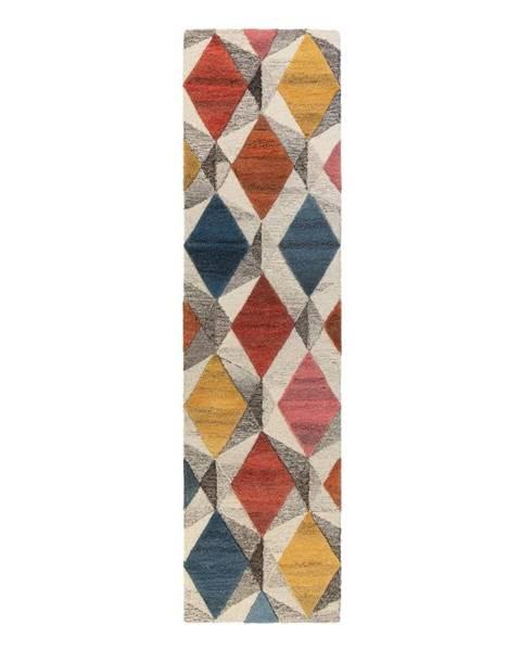 Flair Rugs Vlnený koberec Flair Rugs Yara, 60 x 230 cm