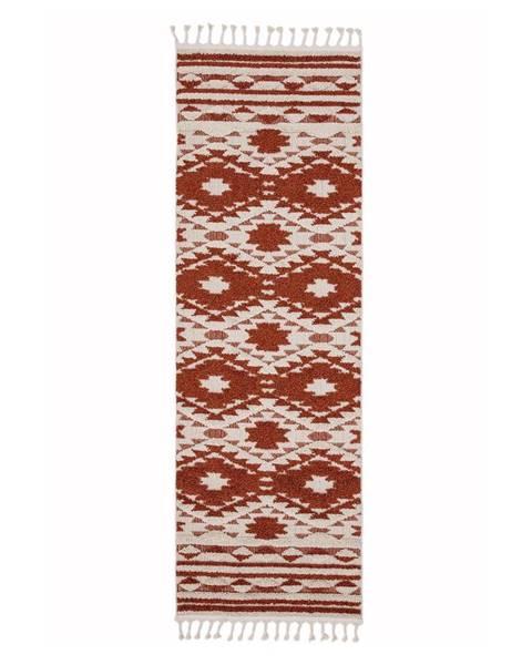 Asiatic Carpets Oranžový koberec Asiatic Carpets Taza, 80 x 240 cm