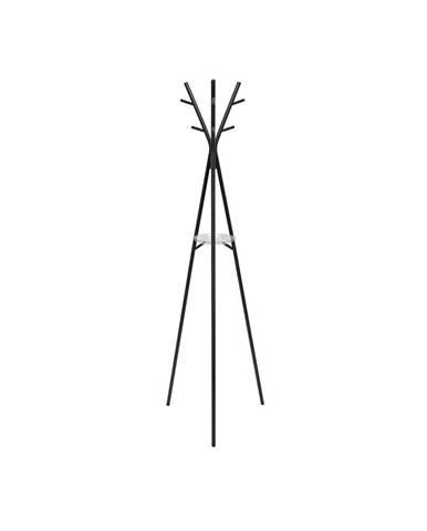 Oceľový stojací vešiak v čiernej farbe Leitmotiv Deer