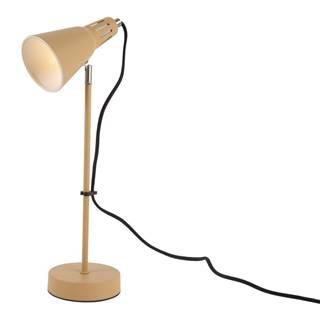 Horčicovožltá stolová lampa Leitmotiv Mini Cone, ø 16 cm