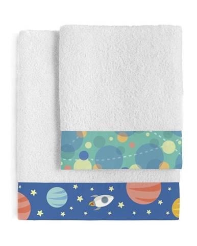 Set osušky a uteráka Happynois Astronaut