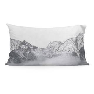 Súprava 2 bavlnených obliečok na vankúš Blanc Alaska, 50 x 75 cm