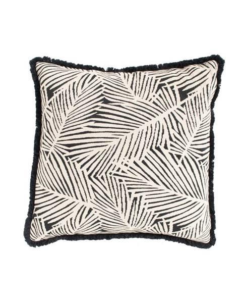 Hartman Čierno-biely záhradný vankúš Hartman Jungle, 50 x 50 cm