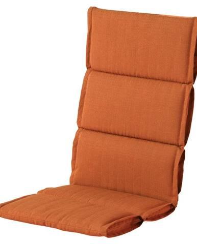 Červeno-oranžový zahradný sedák Hartman Casual, 123 x 50 cm