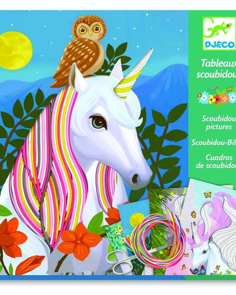 Djeco Kreatívny set Djeco Rainbow Unicorns