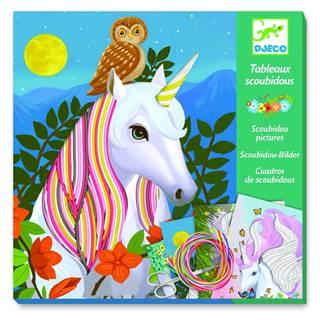 Kreatívny set Djeco Rainbow Unicorns
