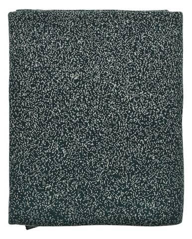 Zelený bavlnený pléd Södahl Alice, 130x170cm