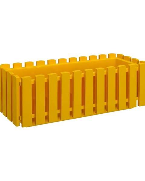 Gardenico Žltý črepník Gardenico Fency System, dĺžka 50 cm