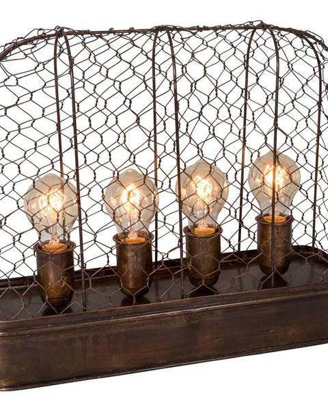 Antic Line Stolová lampa Antic Line Grillagée Lumieres