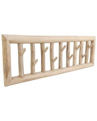 Nástenný vešiak z teakového dreva HSM collection Teako