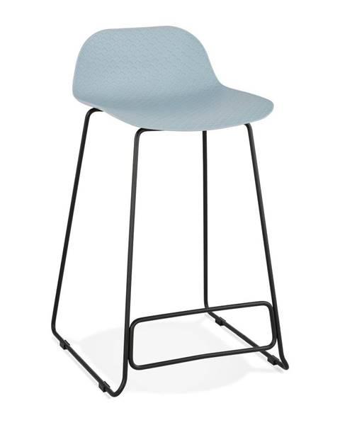 Kokoon Svetlomodrá barová stolička Kokoon Slade, výška 85 cm