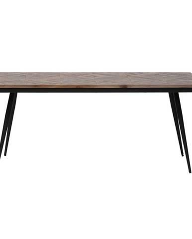 Jedálenský stôl z akáciového dreva BePureHome Rhombic, 180×90 cm