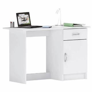 Univerzálny PC stôl biela SIRISS