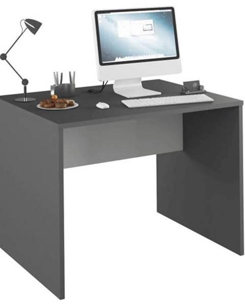 Tempo Kondela PC stôl grafit/biela RIOMA NEW TYP 12