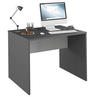 PC stôl grafit/biela RIOMA NEW TYP 12