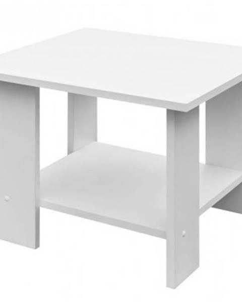ASKO - NÁBYTOK Konferenčný stolík Lena, biely%
