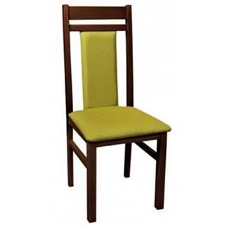 Jedálenská stolička Michalela, zelená%