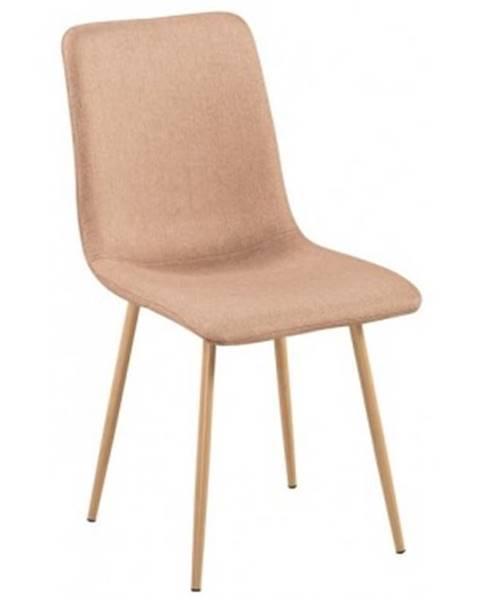ASKO - NÁBYTOK Jedálenská stolička Bjorn, béžová látka%