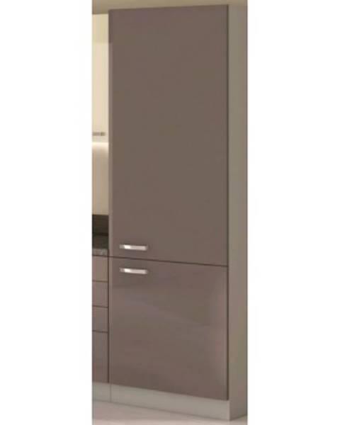 ASKO - NÁBYTOK Vysoká kuchynská skriňa Grey 40DK, 40 cm%