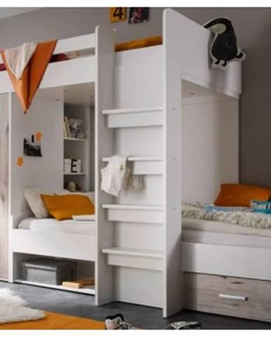 Dvojposchodová úložná posteľ Maxi%