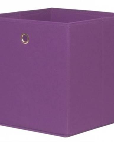Úložný box Alfa, fialová%