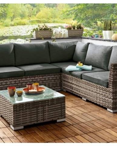 Záhradná sedacia súprava so stolíkom Miramar%
