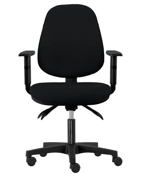Sconto Kancelárska stolička DELILAH čierna
