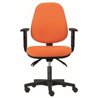 Kancelárska stolička DELILAH oranžová