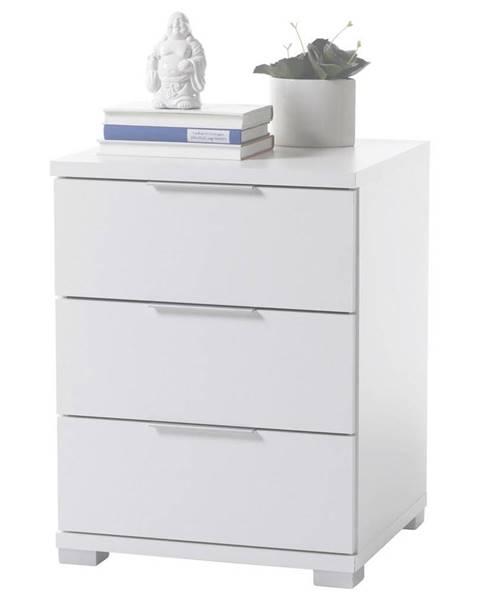 Möbelix Nočný stolík Biela Výška 61 Cm
