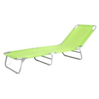 Happy Green Plážové ležadlo SUNBAY svetlozelená