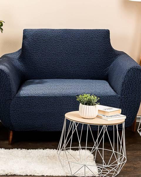 Altom 4Home Multielastický poťah na kreslo Comfort Plus modrá, 70 - 110 cm, 70 - 110 cm