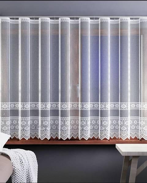 Domarex Forbyt Záclona Samanta biela, 280 x 130 cm