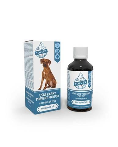 Topvet Ušní kapky prevent pro psy 50 ml
