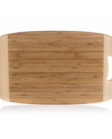 Banquet Doska na krájanie drevená Brillante Bamboo 50 x 30 x 1,8 cm