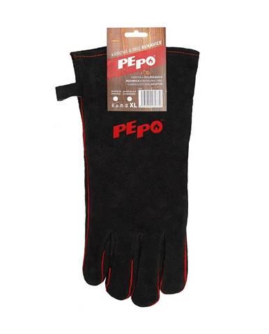PE-PO Krbová a BBQ rukavica, ľavá