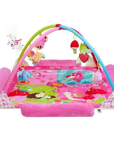 Playtech Veľká luxusná hracia deka s melódiou Zvieratká