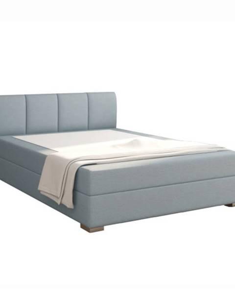 Kondela Boxpringová posteľ 140x200 mentolová RIANA KOMFORT