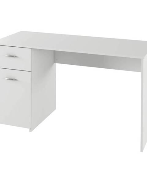 Kondela PC stôl biela BANY